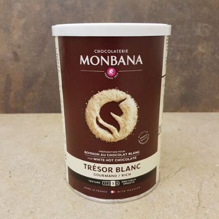 Monbana Tresor White Chocolate 500g